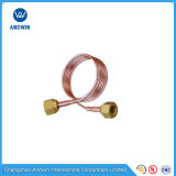 Fastener Brass Pipe Fitting Capillary Tube with Nut