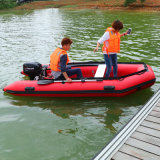 3.6m Aluminum Floor Inflatable Boat with High Pressure Air Tube, Rowing Boat, Inflatable Kayak, Paddle Boat