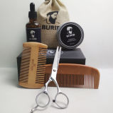 OEM/ODM Wooden Beard Grooming Kit Organic Beard Care Gift Set