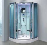 Simple 1200mm Sector Steam Sauna with Shower (AT-D0903-2)
