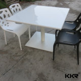 Corian Solid Surface Rectangular Dining Room Table