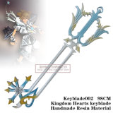 Kingdom Hearts Sora White Kingdom Key Keyblade002 98cm