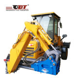 3700kg Front Excavator Backhoe Loader Tractor with Wheels