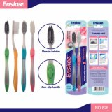 Adult Toothbrush with Soft Bristles 2 in 1 Economy Pack 826