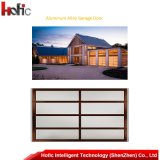 Aluminum Alloy Frame Tempered Glass Garage Door for Villa