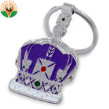 Cheap Custom Wholesale Soft Enamel Crown Shape Keychain (KC-00112)