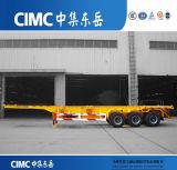 Cimc New 3 Axle Container Skeleton Semi Trailer