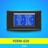 2018 New Pzem-020 Single Phase 6in1 Volt AMP Watt Energy AC Current Meter