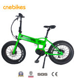 36V 350W Bafang MID Motor Folding Electric Bike with Hidden Battery