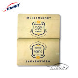 Custom Silkscreenmetallic Golden Silver Background VIP Card/ Gold Business Card