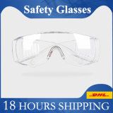 Safety Glasses Personal Protective Equipment Standard Transparent Goggles UV Protection Adult Over Glasses Goggle Eyewear Protection