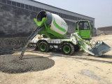 4m³ Self Loading Concrete Mixer Truck