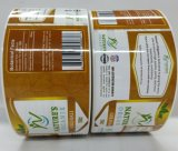 Cheap Self Adhesive Paper Sticker Customized Private Logo Food Labels with Glossy Lamination