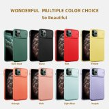 Hot Deals Cell Phone Case Wholesale for iPhone 11 PRO Max, Camera Sliding Lens Protective Mobile Phone Case Soft Colorful TPU Case for iPhone