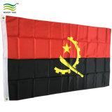 Polyester Custom Size Printing Angola National Flags