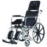 Steel Manual Wheelchair for Disabled People with Competitive Price