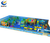 Ocean Series Cheap Indoor Soft Playground Equipment with Climbing Web