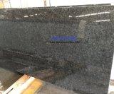 Top Quality Midnight Blue Granite Shining Blue Eyes Price Dark Black Blue Granite for Countertop/Slab