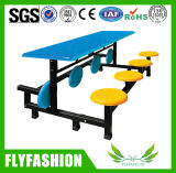 Foldable Canteen Dining Table Set for 8 People (DT-12)