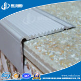 Aluminum Base with Strips Safety Metal Stair Nosing for Step Edging Protection