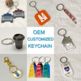 Factory Customizem Personalized Christmas Decoration Gift Keyring PVC Metal Promotional Gift Keychain with Free Design