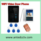 Home Security Wireless WiFi Video Door Intercom System with RFID ID Card Unlocking