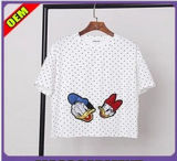 Fashion Nice Printed T-Shirt for Women (W220)