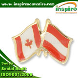 Customized Zinc Alloy Epoxy Flag Pin for Collection