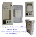 Foldable Wall Charger Box with Clear Window and Pet Tray