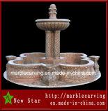 Sandstone Carving Water Granite Fountain