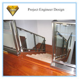 Indoor Stainless Steel Glass Staircase Railing