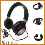 Over Head Folding Headphones Headphone Earmuff