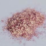 Pearlescent Pigments Diamond Luster Effect Pigment D661r Glass Flake Solid Red Eyeshadow Pigment Cosmetic Sparkling Effects