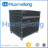 Warehouse Folding Pet Preforms Wire Mesh Container