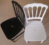 Best Price White or Black Resin PC Napoleon Chair