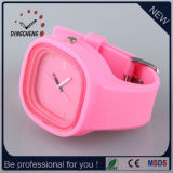 2015 Pink Square Lovely Fashion Wrist Watch (DC-966)