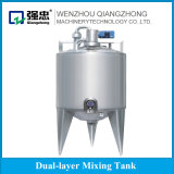 Stainless Steel Easy to Operate Agitation Mixing Tank, Ice Cream Aging Tank