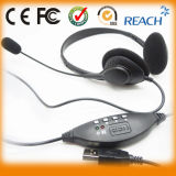 Top Quality Manufacturer Stereo USB Headphones