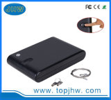 Portable Biometirc Fingerprint Safety Security Jewelry Digital Gun Privacy Box for Cash