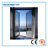 Roomeye Energy Saving Aluminum Profile Casement Doors with Ce Certificate
