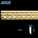 Decorative Polystyrene Cornice for Luxurious Villas, Hotels, Restaurants