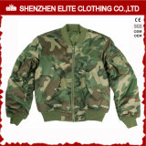 2018 Fashion Clothes Embroidery Camo Bomber Jacket Cheap (ELTWBJI-15)