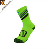 Men′s Light Outdoor Football Cotton Socks (165004SK)