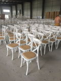 Stacking Design Solid Wood X Back Chair for Event Used (CGW1609)