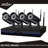 1080P 4CH Wireless WiFi NVR Kit Security System IP CCTV Surveillance Camera