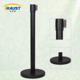 Retracta-Belt Stanchions, Crowd Control Tape Barriers with Braking Casstte