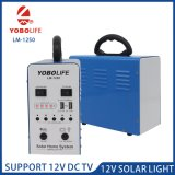 Portable Solar Power Station with 5PCS 12V Bulbs Output Port