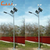 High Power Wind Turbine Generator System Wind Solar Hybrid LED Street Light