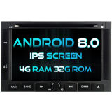 Witson Eight Core Android 8.0 Car DVD for Peugeot 3008/5008 2009-2011 4G ROM 1080P Touch Screen 32GB ROM IPS Screen