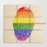 Lgbt Pride Gay Pride Flag Wood Wall Art